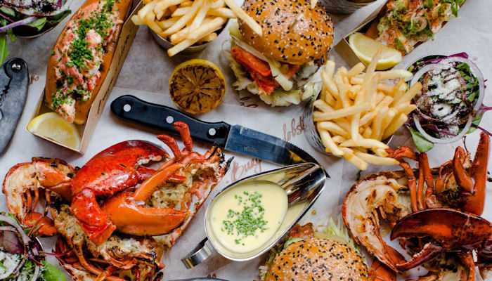 Restaurants near the Royal Exchange Manchester ~ Burger & Lobster