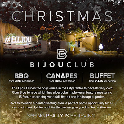 Christmas In Manchester Restaurants - The Bijou Club