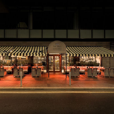 Christmas In Manchester Restaurants -  The Grill On New York Street