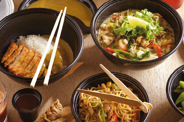 Restaurants near the Royal Exchange Manchester ~ Wagamama Spinningfields